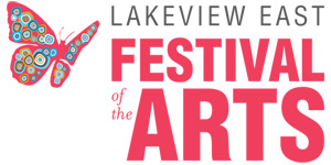 Lakeview East Festival of the Arts Mobile Retina Logo