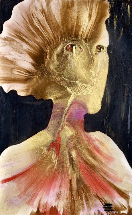 Self Portrait in Resin