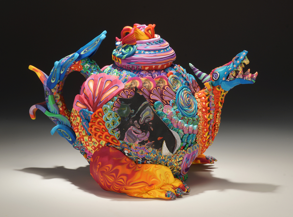 Party Dragon Teapot