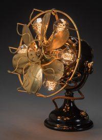 1890 Direct Current Fan Light Fixture