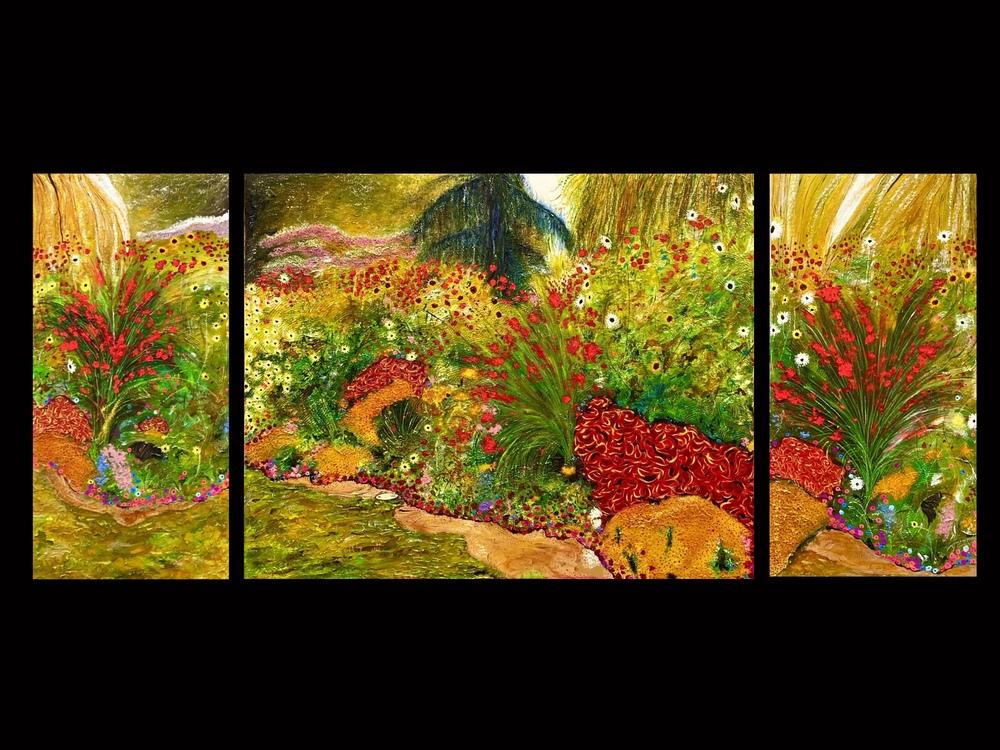 Seattle III, triptych