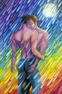 Embrace in the Rain