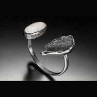 Beachstone and Specularite Bracelet