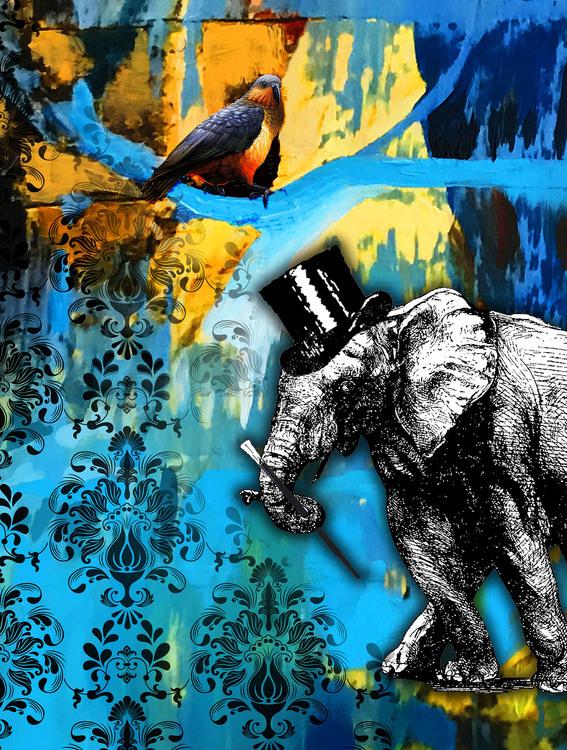The Elephant and the Bird