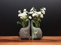 Jade Elephant Vase
