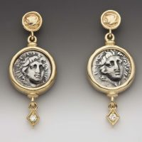 Helios Gold Earrings