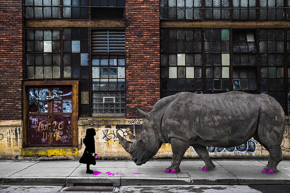 Real Rhinos Wear Pink