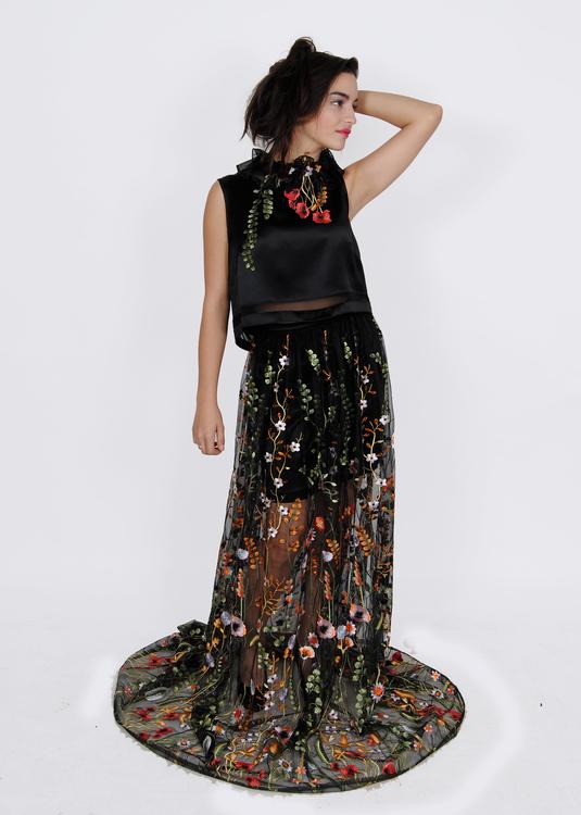Four Piece Evening Gown
