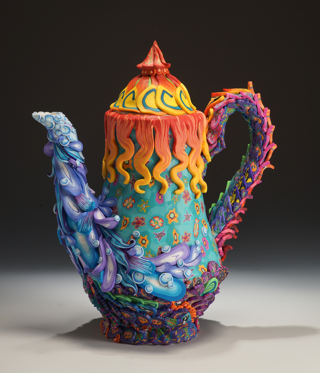 Art Splash Teapot