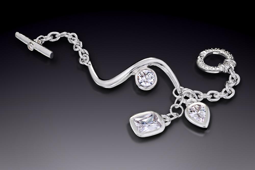 Sensual Jewel Drop Bracelet