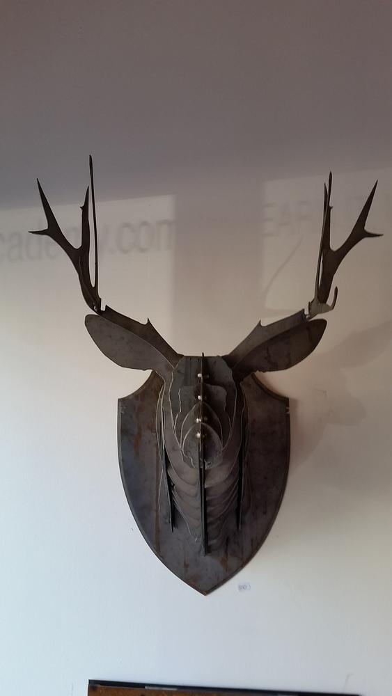 Steel Deerhead