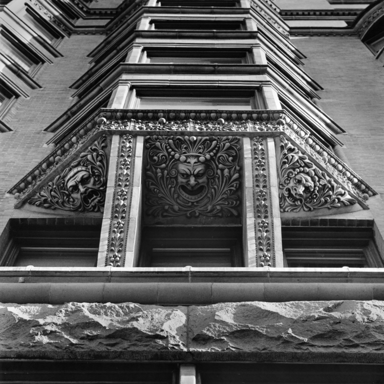 Chicago, Manhattan Building Terra Cotta Detail
