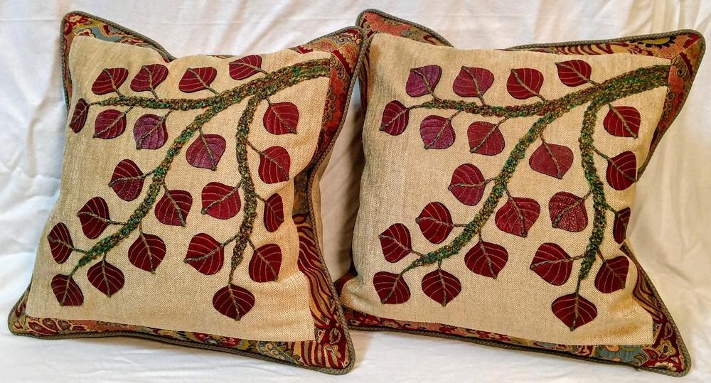 Aspen Branch Pillows