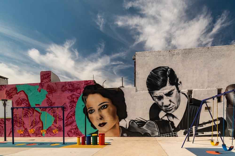 Playground in Montevideo, Uruguay