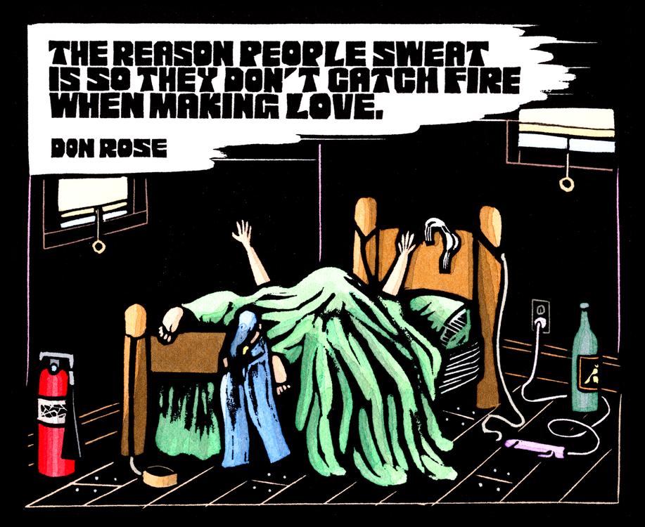 Rose Quote...Sweat
