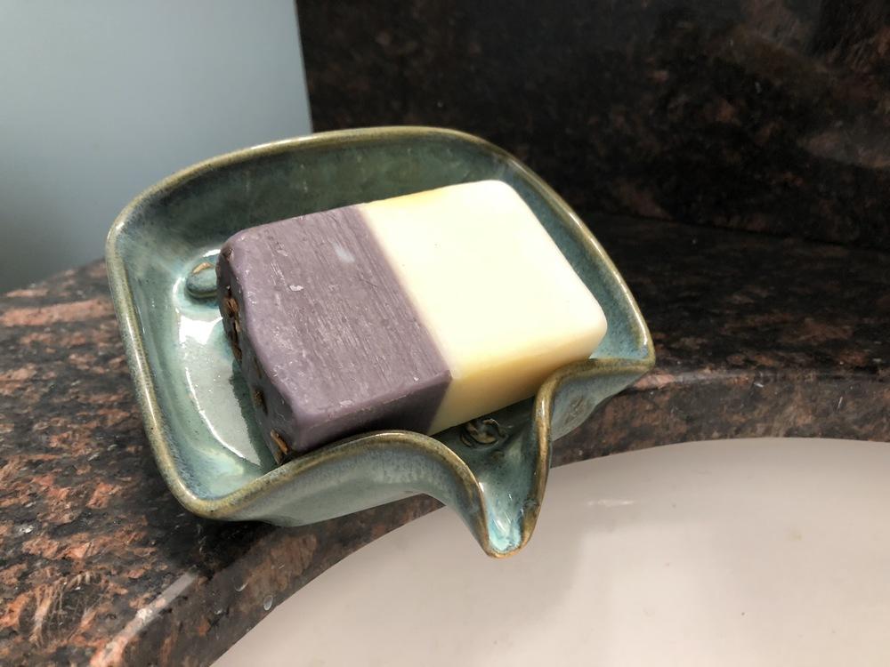 Self-Draining Soap Dish