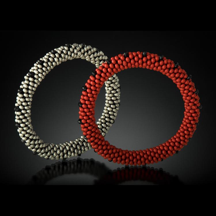 Bead Crochet Bangles