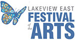 Lakeview East Festival of the Arts Logo